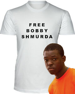 Details about FREE BOBBY SHMURDA T-Shirt Jail Prison Shmoney Dance