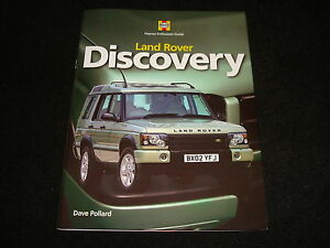 LAND-ROVER-DISCOVERY-DAVE-POLLARD-HAYNES-ENTHUSIAST-GUIDE-HARDBACK-2009-NEW