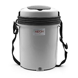 42d81db956c MILTON Electric Tiffin Carrier - 3 or 4 Containers Electron Hot ...