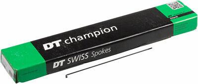DT Swiss Champion Spoke 2.0mm 294mm J-bend Silver Box of 100 Bicycle Spokes