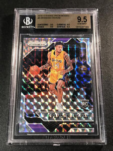 BRANDON INGRAM 2016 PANINI PRIZM #8 MOSAIC REFRACTOR ROOKIE RC ALL BGS 9.5 SUBS