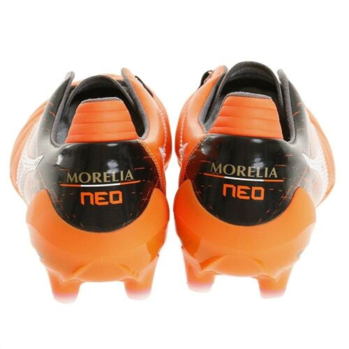Details about  /NEW MIZUNO Soccer Football Spike Shoes MORELIA NEO 2 P1GA175054 Orange US8//26cm