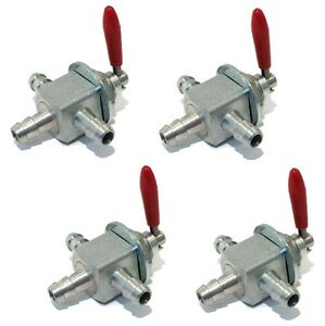 4-New-Two-Way-GAS-FUEL-CUT-OFF-VALVES-for-Exmark-1-633347-Lawn-Mower-Tractor