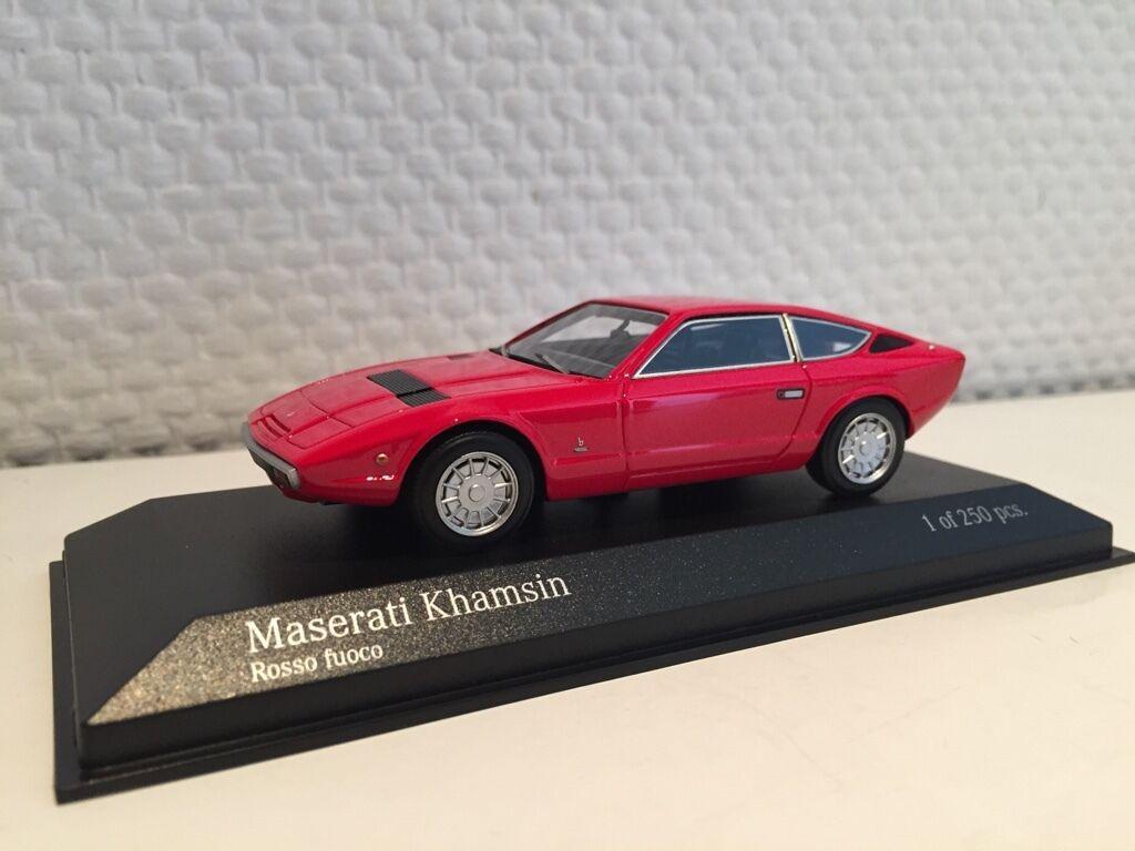 Maserati khamsin 1977 verrotten 1 43 minichamps neu & ovp 437123224