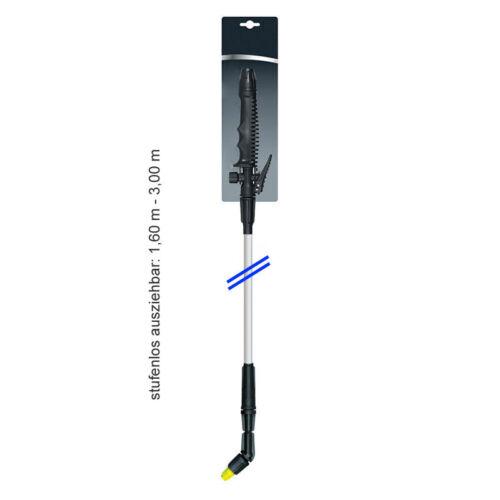 T300 lange Sprühlanze 1,60 bis 3 Meter ausziehbar erweiterbar bis zu 5 Meter