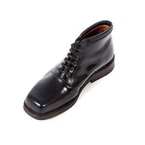 Boots-amp-Braces-Oxford-Black-4-Loch-Schuh-Ledersohle-Business-Leder-Made-in-EU