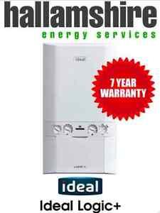 installed ideal logic plus 30kw combi boiler 7 10 year. Black Bedroom Furniture Sets. Home Design Ideas