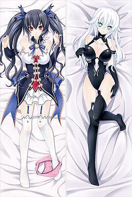 Anime Dakimakura Hyperdimension Neptunia Noire Pillow Case Cover Hugging Body
