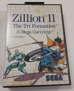 Zillion-II-The-Tri-Formation-Sega-Master-1988-Complete