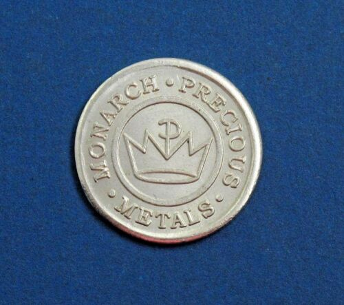 Monarch Precious Metals 1st edition Silver Fractional Round 1//10 oz
