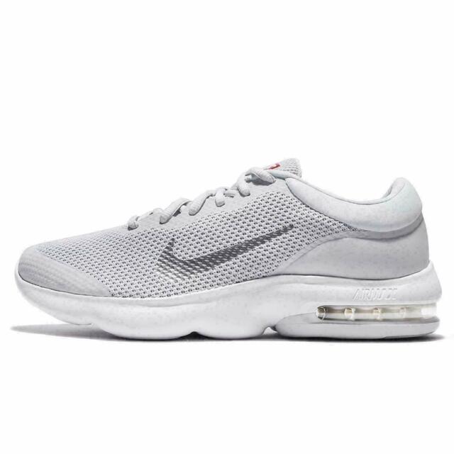 Nike Air Max Advantage 908981 006 Pure Platinum Grey White Men's Running Shoes