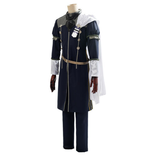 Three Houses Cindered Shadows Yuri Cosplay Costume Suit Game Fire Emblem
