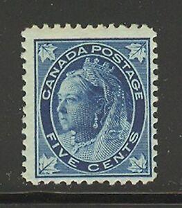 Canada # 70, 1897 5c Queen Victoria - Maple Leaf Issue, Unused NH