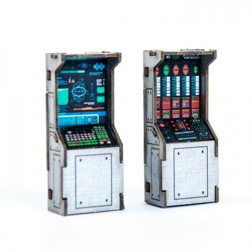 28S-TAO-141 4GROUND Control panels x2-28mm