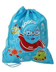 Zoggs-Kids-Swim-swimming-Ruck-Sack-For-Wet-Cloths-And-Towels-Blue-Pool-Bag