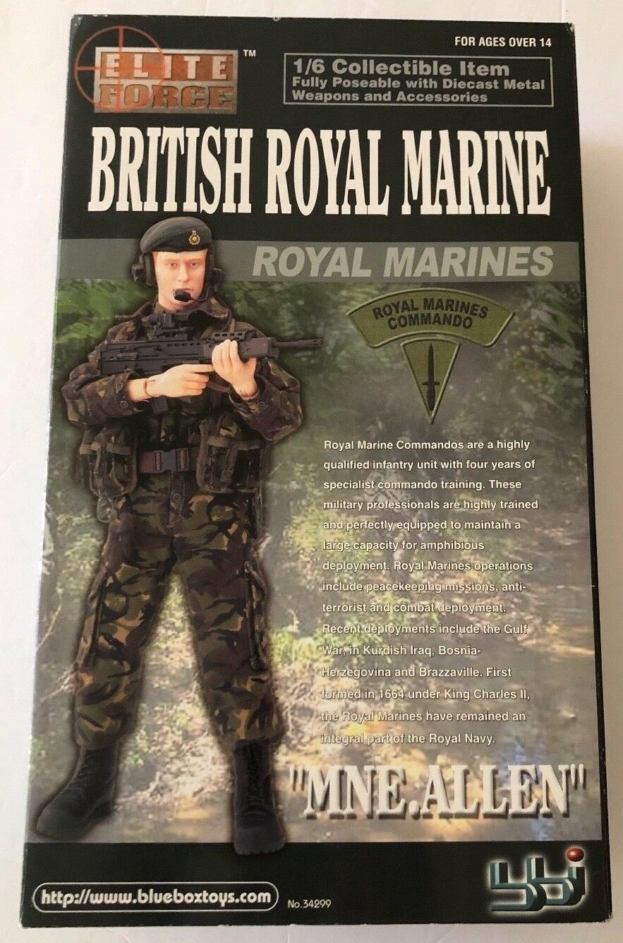 BBI 1 6 Scale 12  Elite Force British Royal Marine MNE Allen Diecast Figurine