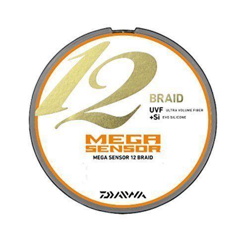 Daiwa PE LINE MEGA SNSOR 12Braid 200m  6.0 Multi  pesca LINE From JAPAN