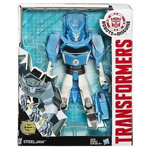 Hasbro Transformers Robots In Disguise Changeurs à 3 étapes Steeljaw Figure B1726