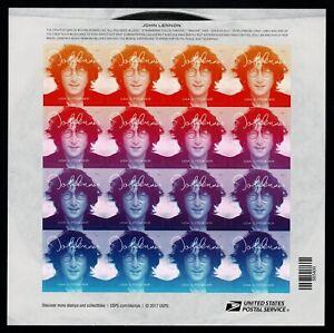 John-Lennon-sellos-hoja-entera-United-States-2018-USA-Forever-stamps-music