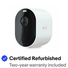 Arlo VMC4040P-100NAR Pro3 WireFree Security 2K Camera Certified Refurbished