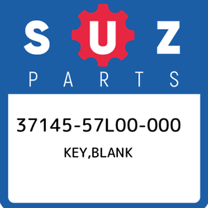 37145-57L00-000-Suzuki-Key-blank-3714557L00000-New-Genuine-OEM-Part