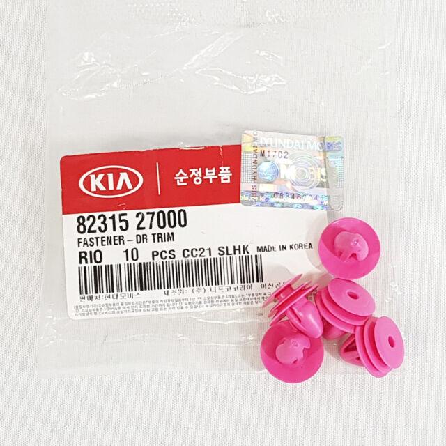 KIA Tail Door Trim Panel Clips Retainer fastener 10pcs