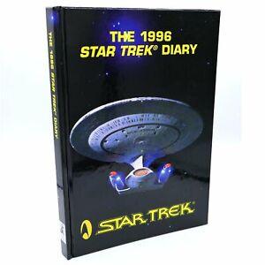 Star-Trek-Diary-Vintage-1996-Rare-Art-Book-Collectible-Official-Australia-Rel