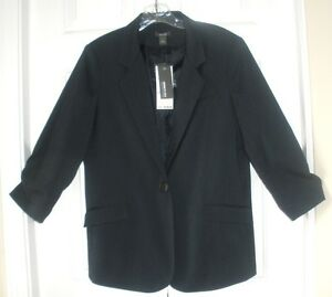 Smoky 6 Reaction Blazer Blue Kenneth Womens Office Nwt Career Cole Jacket Size xgqHnCwp