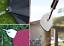 10 St Spannfix-Ösen-Spann-Klammer Mini-Clip-Clips Banner-Planen-Spanner weiss