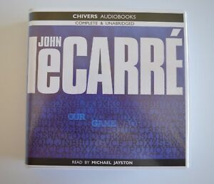 Our-Game-by-John-le-Carre-Unabridged-Audiobook-10CDs