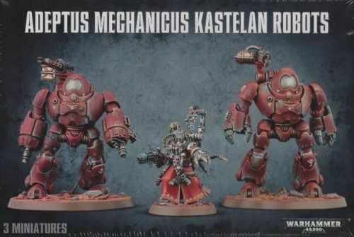 Adeptus Mechanicus Kastelan Robots Games Workshop Warhammer 40.000 40k Skitarii