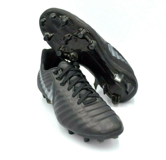 Mentalmente Cuestiones diplomáticas solamente  Nike Jr Tiempo Legend 7 Elite FG Soccer Cleats Blackout Ah7258-001 Size 4y  for sale online | eBay