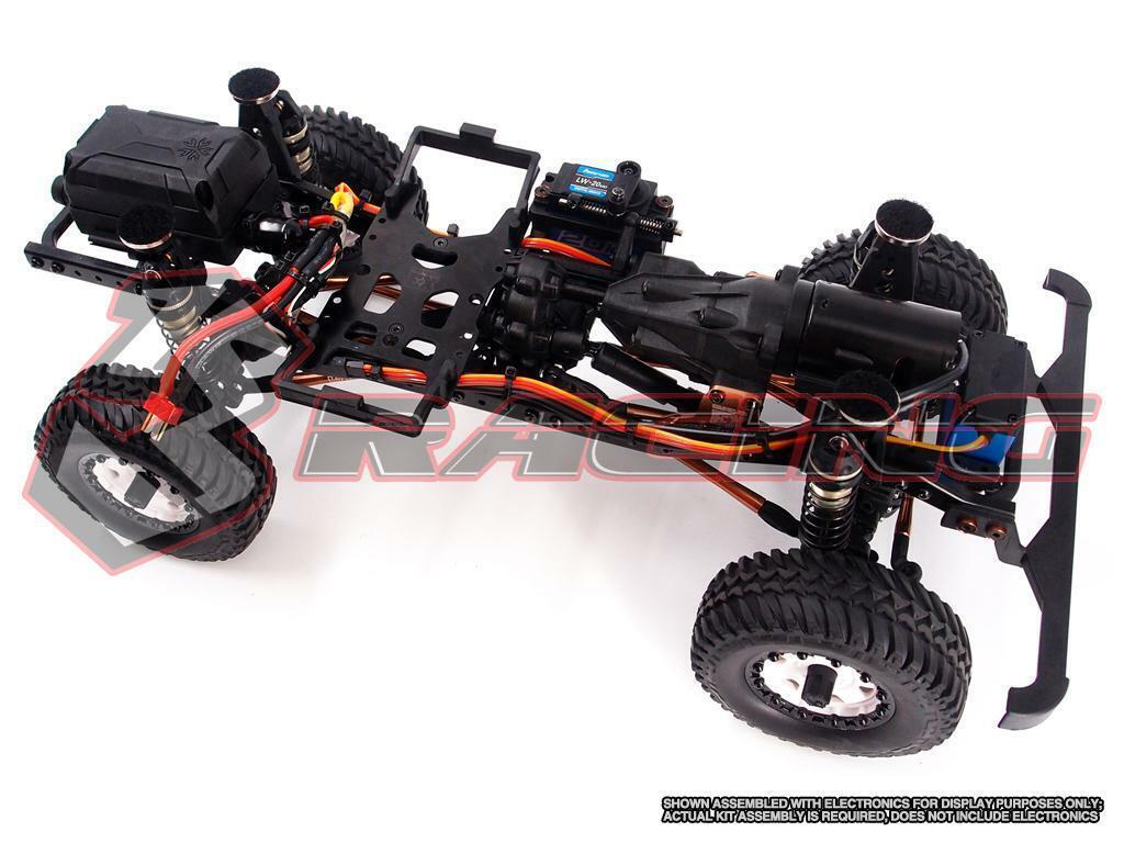 3 Kit De Cochereras-ex-Real 1 10 4WD RC CRAWLER Kit con Motor, de 2 Velocidades & no Electronics