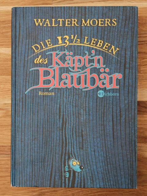 Walter Moers - Die 13 1/2 Leben des Käpt´n Blaubär, gebundene Ausgabe (1999) +CD