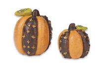 Studio M Gypsy Garden - Mini Pumpkins Set Of 2 - Gg500