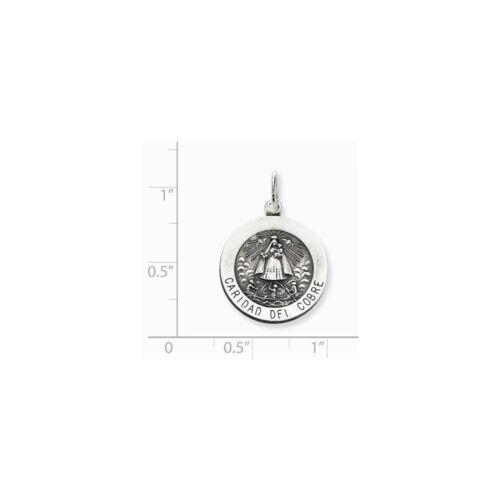 Argent Sterling .925 Caridad del Cobre médaille Charme Pendentif fabricants Standard prix de détail $54