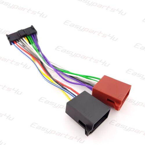 ISO 12pin Adapter PIONEER KEH-P 3300 3400 3600 3630R 4300 4400R