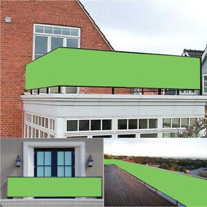 Privacy-Screen-Balcony-Sunshade-Oxford-Fabric-Garden-Multi-Sizes-amp-Colour-Green