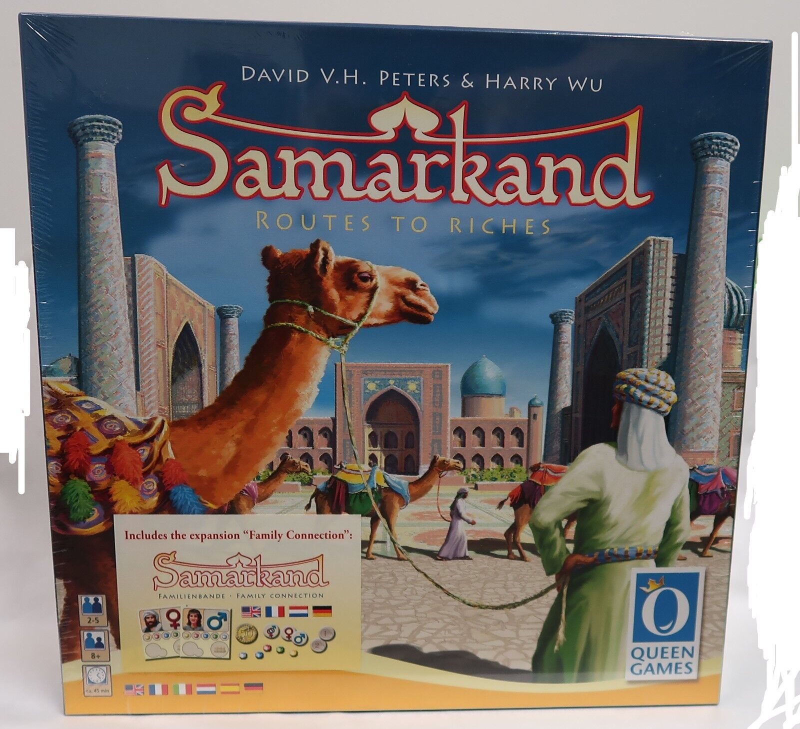 Samarkand Board Game Queen+ Family Connection Expansion New  OOP  RARE