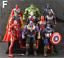 10Pcs-Avengers-3-Action-Figure-Marvel-Captain-America-Spider-Man-Iron-Man-Doll thumbnail 17