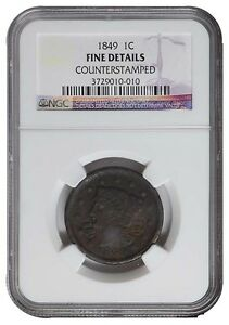 US-1949-LARGE-CENT-BRAID-HAIR-NGC-Grade-FINE-DETAILS-COUNTER-STAMIPED