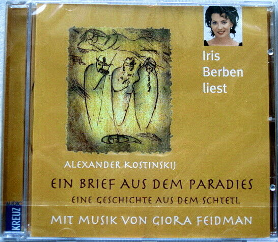 Ein Brief aus dem Paradies, gelesen von Iris Berben *NEU* Hörbuch CD