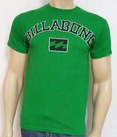 Billabong Outlaw Tee Mens Green 100% Cotton T-shirt
