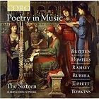 Poetry in Music: Britten, Howells, Ramsey, Rubbra, Tippett, Tomkins (2015)