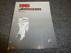 2005 Johnson 60 70 HP 4-Stroke Outboard Motor Shop Service