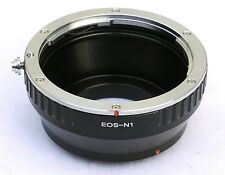 ADAPTER RING OBJECTIVE CANON EOS ON NIKON1 CAMERA V1 V2 J1 J2 J3 S1 AW1