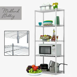 Garage-Shed-5-Tier-Racking-Storage-Shelving-Units-Boltless-Heavy-Duty-Shelves