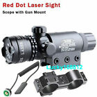 red laser sights sites outside adjust for rifle scope gun outdoor w 2 Mount #22