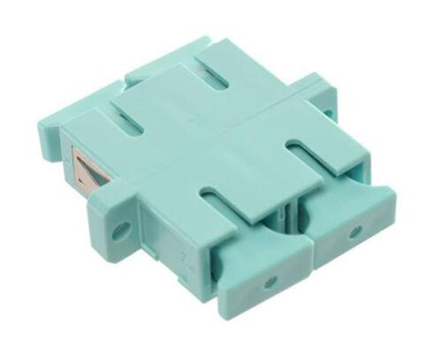 Multimode 10 Gig Single – 4590 Fiber Optic Coupler SC//PC Duplex Adapter