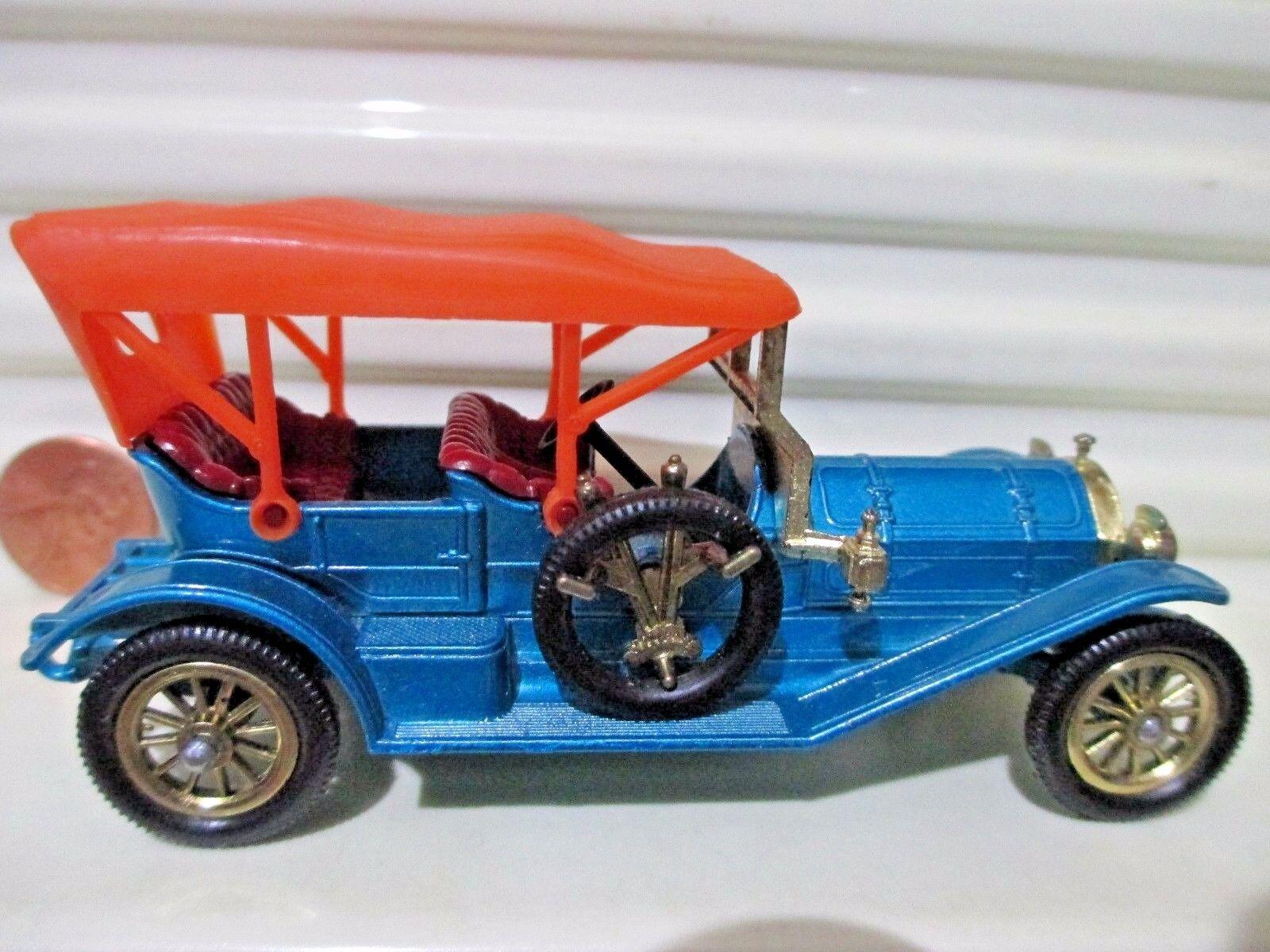 Matchbox - modelle von vorgestern 1967 y12b blaue 1909 thomas flyabout Orange dach nu